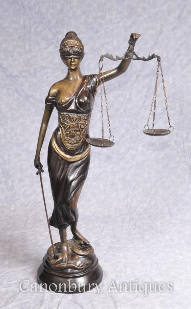 Bronze Lady Justice Statue Scales Legal Justitia Themis Lady Justice Statue Statue Justice Statue