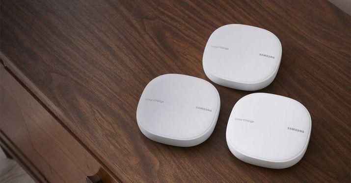 Samsung lanza el nuevo router SmartThings WiFi, y mejora