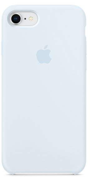 Apple Iphone 8 7 Silicone Case Sky Blue Phone Cases In 2019