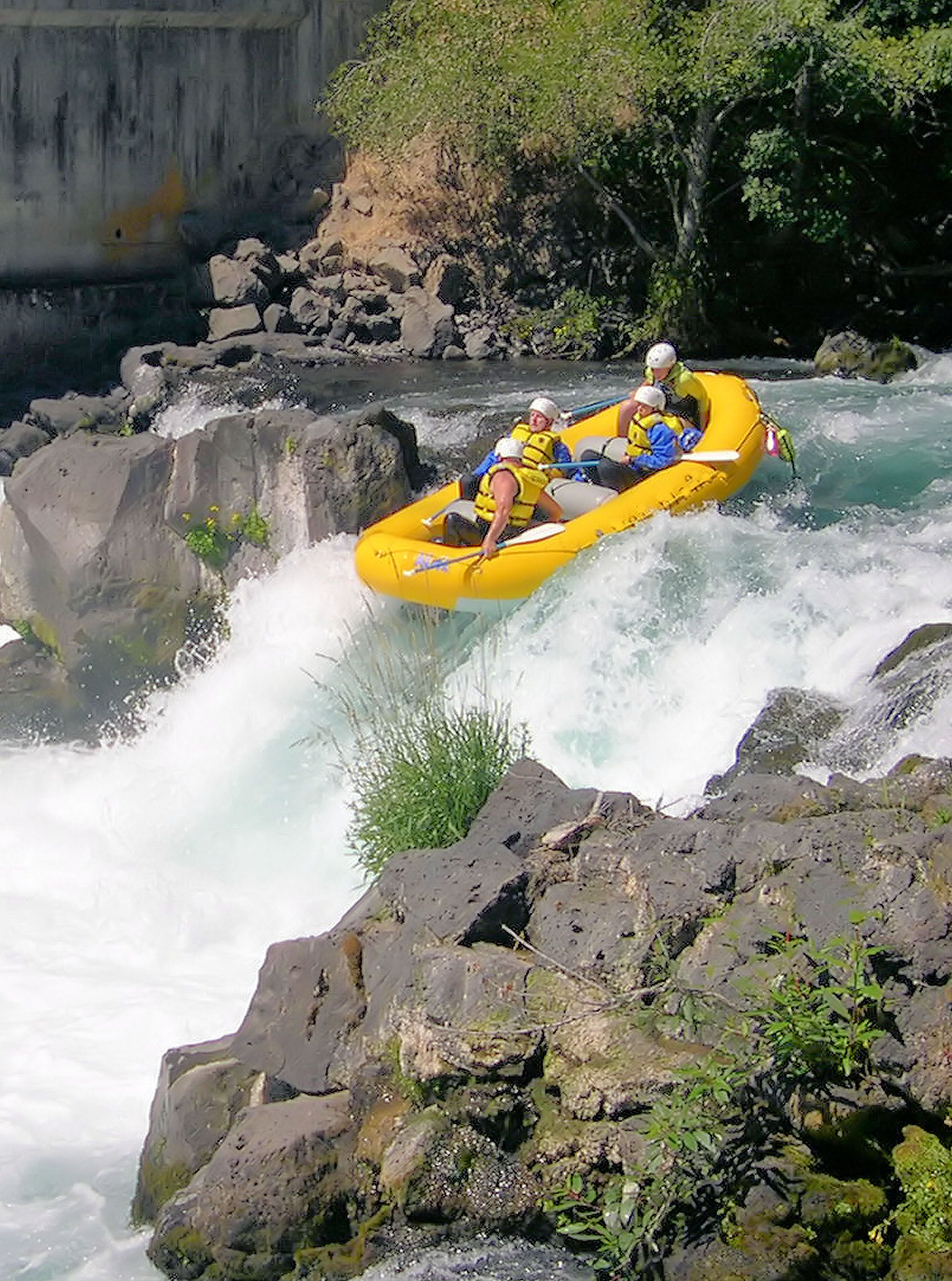 Go White Water Rafting Such As In