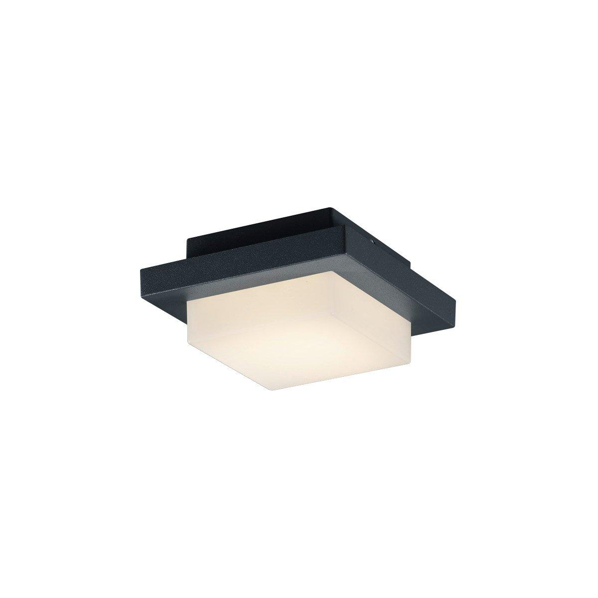 Arnsberg hondo light inch dark grey outdoor wall light