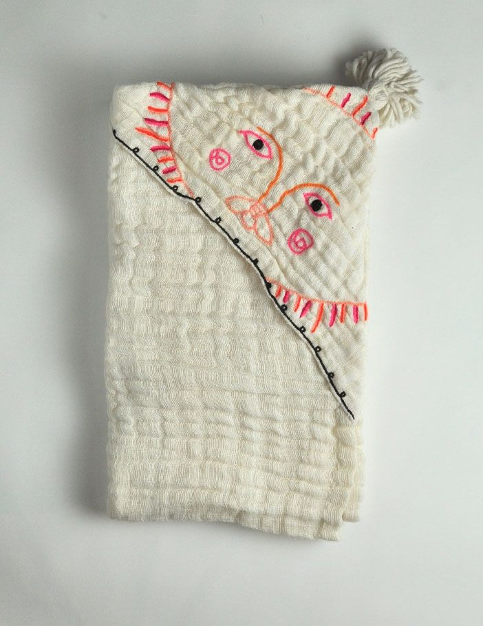 Lem Lem  Sun Lion Gabi Blanket    100% cotton