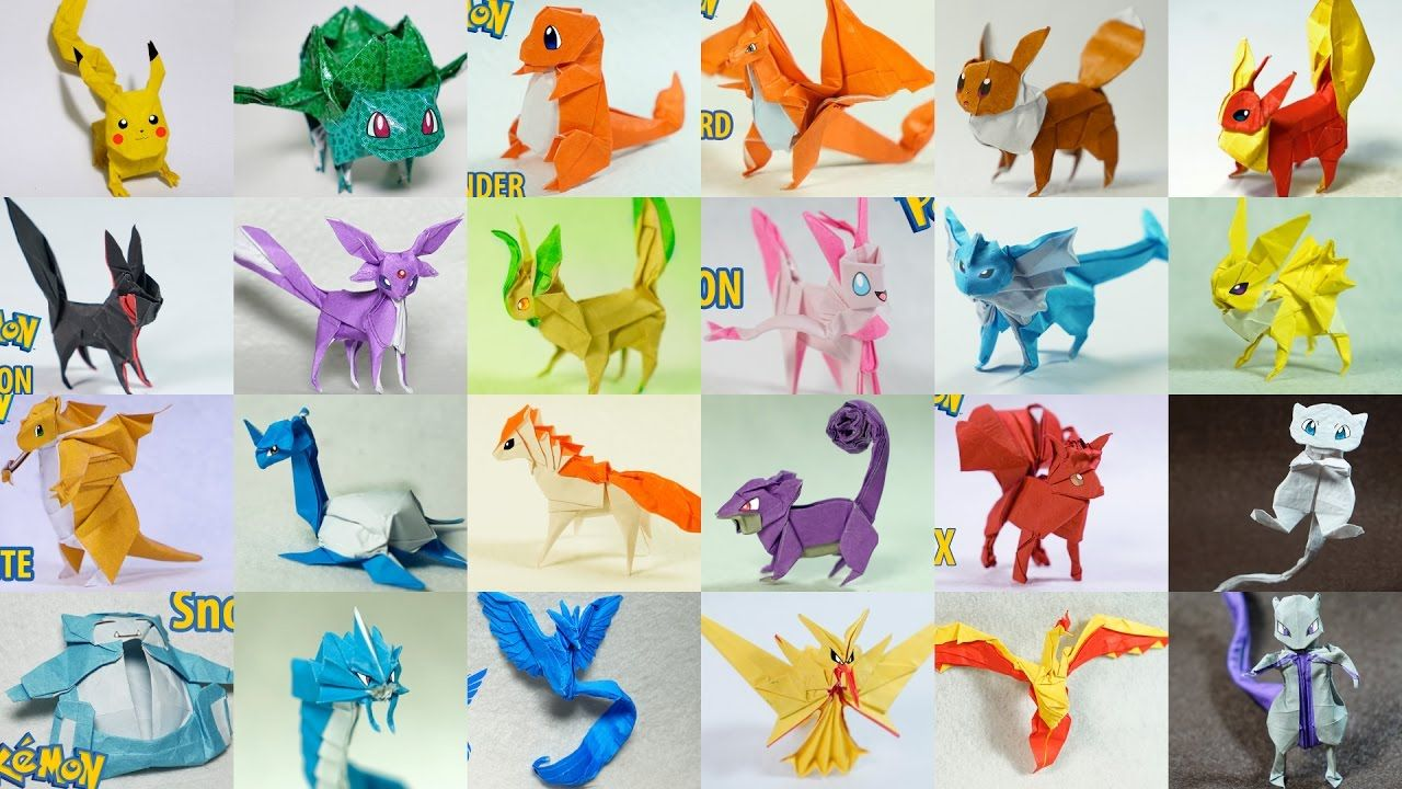 Top Paper Pokemon Origami Of All Time Henry Phm Daffodil Diagram Advanced Pinterest Youtube