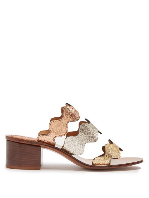 Lauren leather sandals Chlo UpFj2
