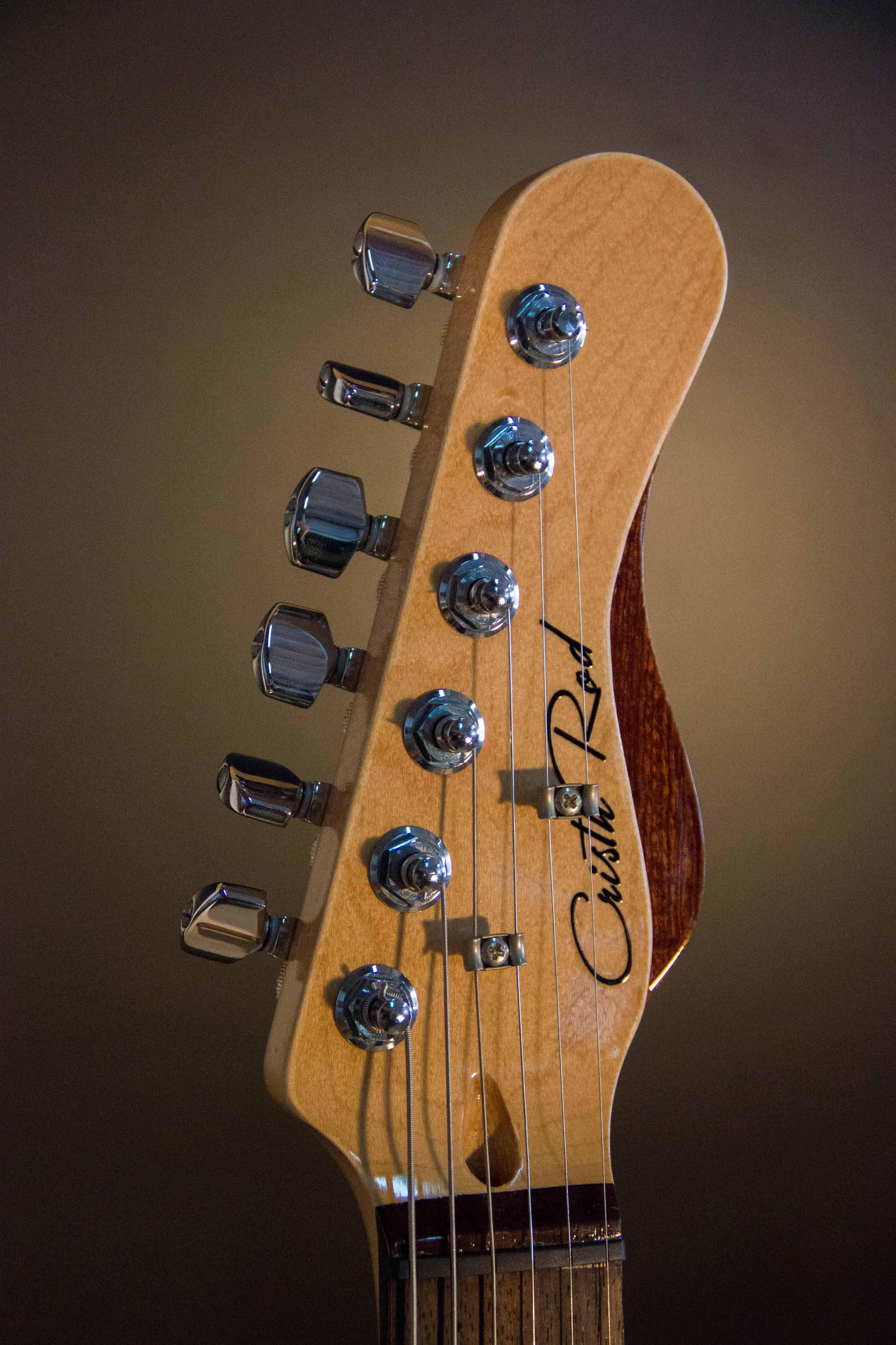 telecaster all for nothing design cristh rod guitars www
