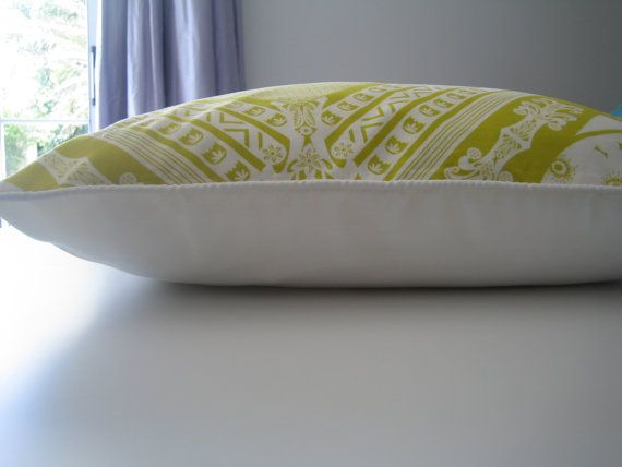 Throw Pillow Custard Yellow Cushion Modern  by CushionsandMore, $43.00