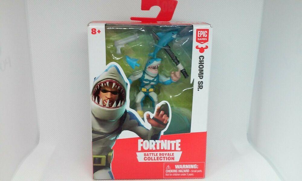 Fortnite Battle Royale Collection Chomp Sr 2 Figure Epic