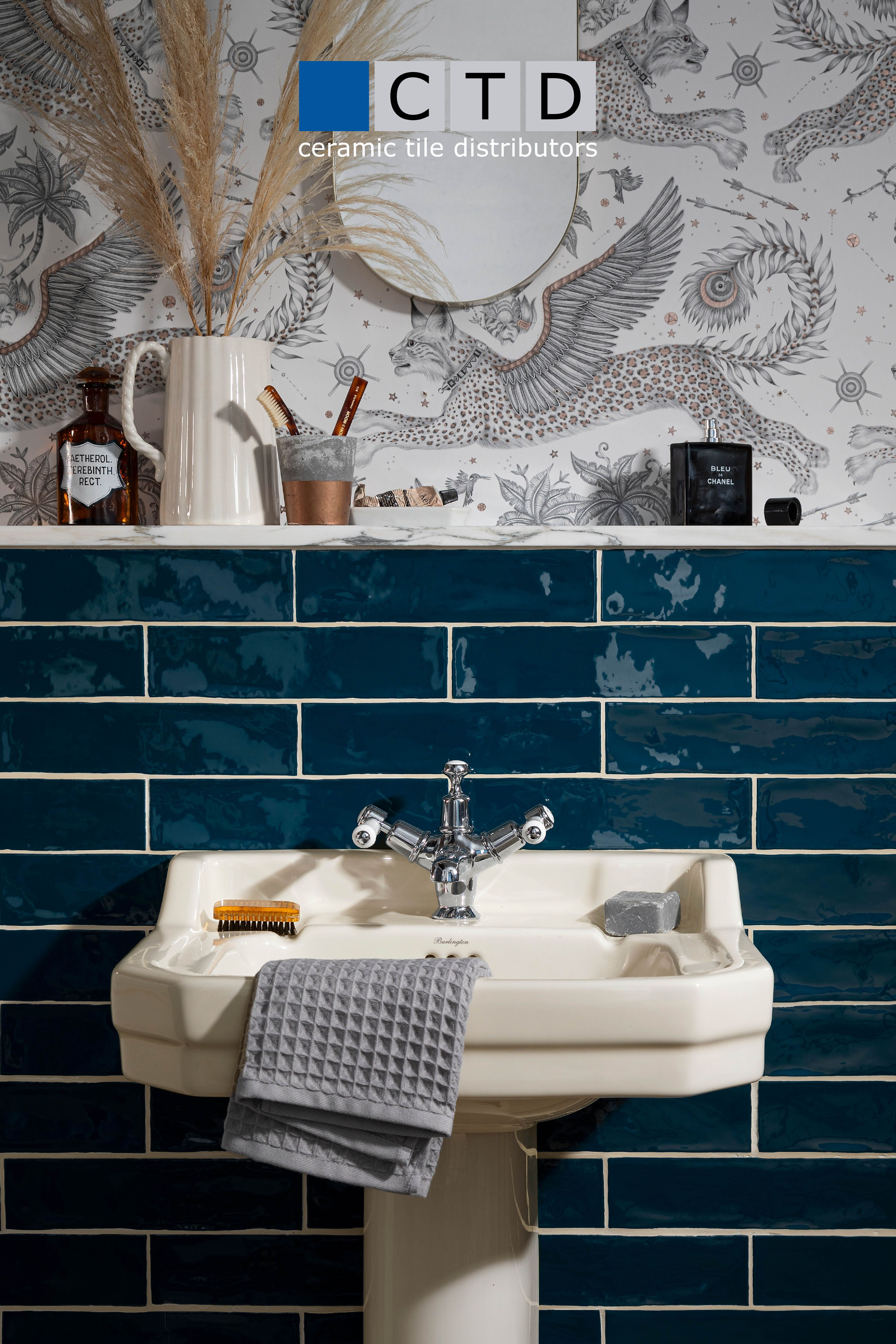 Your One Stop Shop For Bold And Beautiful Tiles Black Kitchen Taps Bathroom Decor Interior