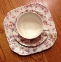 Vintage Johnson Brothers Rose Chintz Pink Made In England Cup&Saucer and…