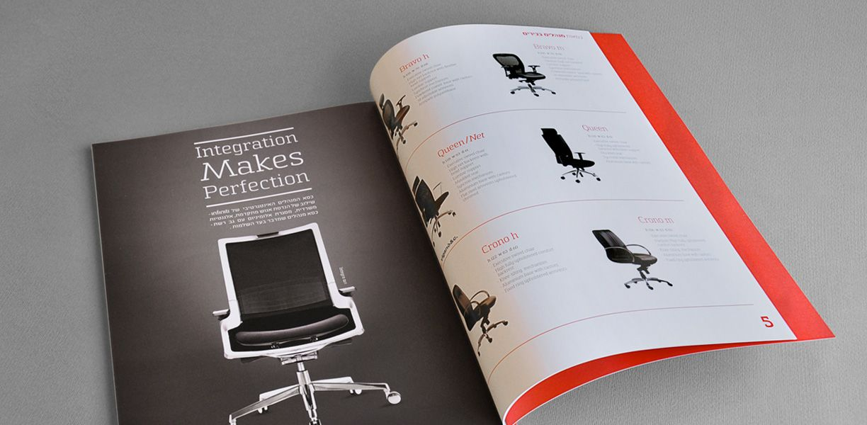 Chairs catalog design | Sit,Work, Relax | Bee Creations | Brochure ...