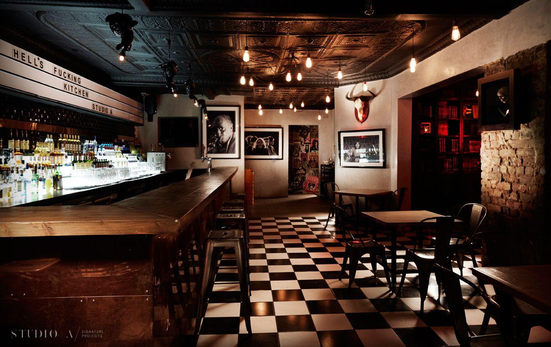 Studio A Signature Projects / Johannesburg, South Africa. Hells Kitchen / Bar & Restaurant Design