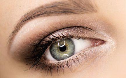 Makijaż Brązowy ślubny Klasyk Makeup Pinterest Smokey Eye