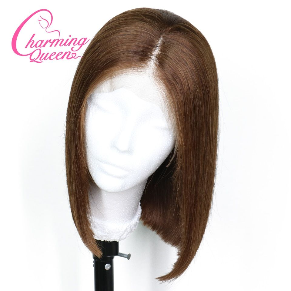 Black Wigs Fei-show Synthetic Heat Resistant Fiber Wavy Child Hair Light Brown 44 Cm Head Circumference For 4-10 Year-old Girls Synthetic None-lacewigs Hair Extensions & Wigs