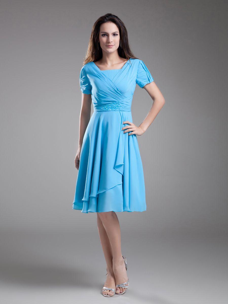Bridesmaid Dresses for young teens | Teen, Short sleeves and Shorts