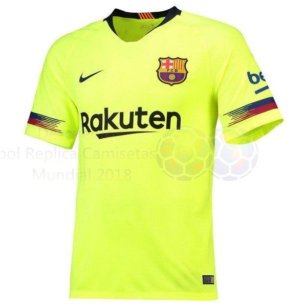 Venta Camisetas Tailandia Segunda Camiseta Barcelona 2018 2019 Verde €20.00 8aa8e70075a