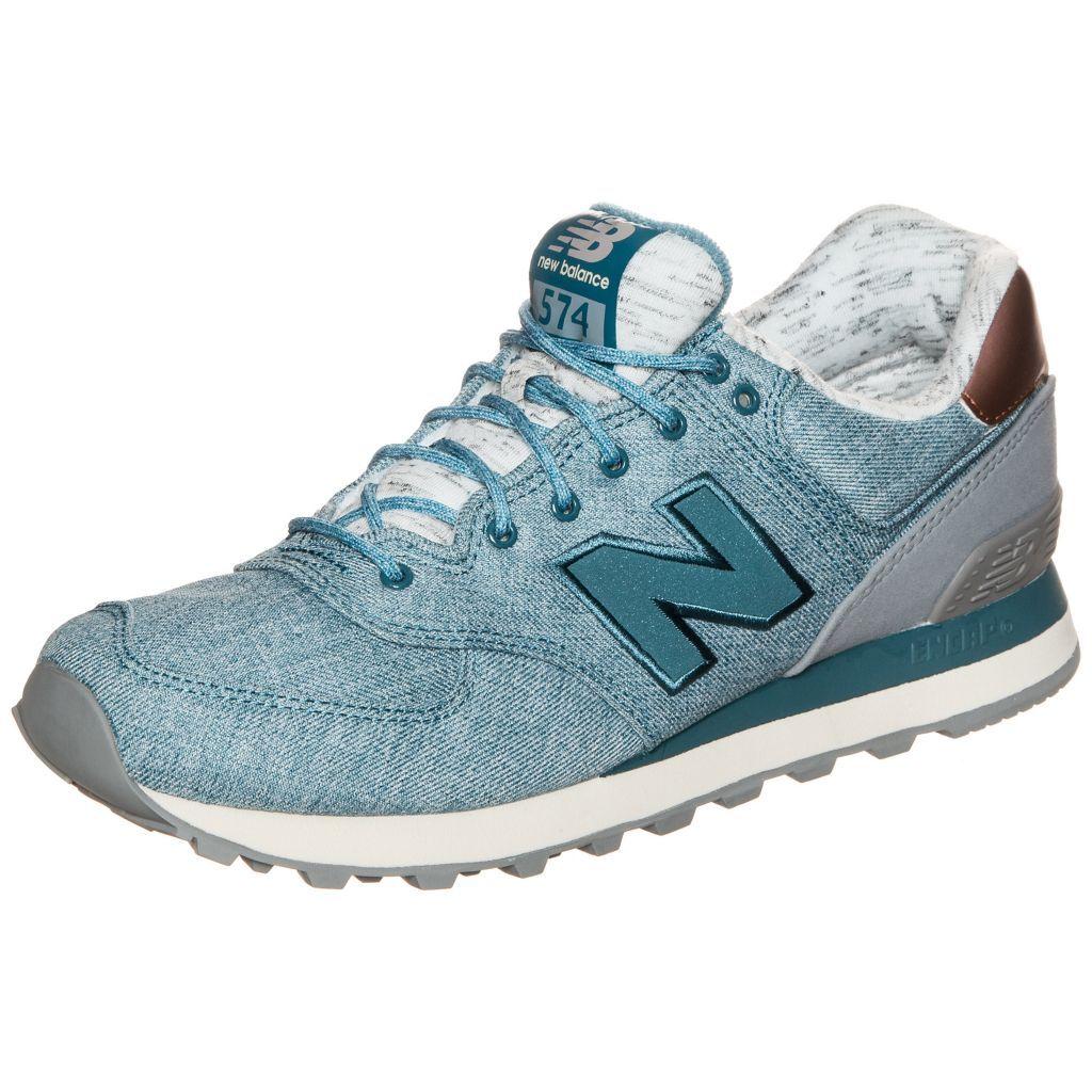0889969640072 New Balance Wl574 Aec B Sneaker Damen Blau Kupfer Sneaker Damen Sneaker Damen Freizeitschuhe