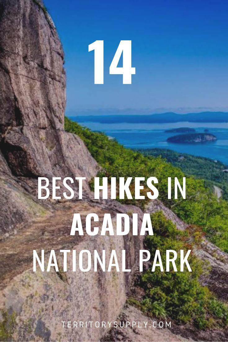 Vacationland Treks: 14 Best Hikes at Acadia National Park #hikingtrails