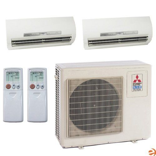 Mxz 2b20na 1 Msz Fe09na 8 Msz Fe12na 8 Dual Zone Wall Mounted Hea By Mitsubishi 2527 95 Mit Ductless Mini Split Split System Air Conditioner Accessories