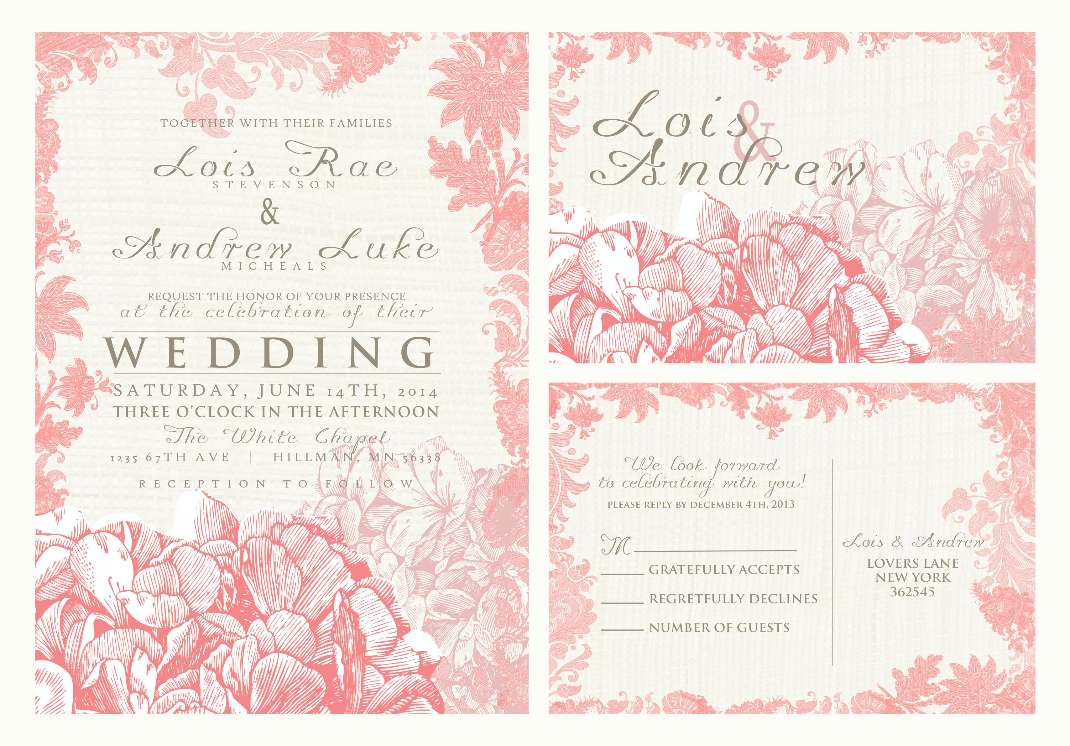 Yes All Colors Can Be Changed To Your Wedding Wording Customized