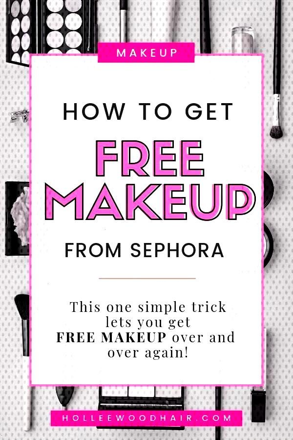 How does FREE MAKEUP FROM SEPHORA sound What if I told you that using this super easy trick to keHow does FREE MAKEUP FROM SEPHORA sound What if I told you that using thi...