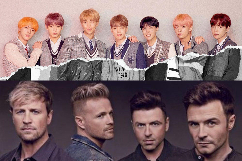 أعضاء فرقة Westlife يختارون فرقة Bts كالفنان الكوري الذين يود ون التعاون معه Bts