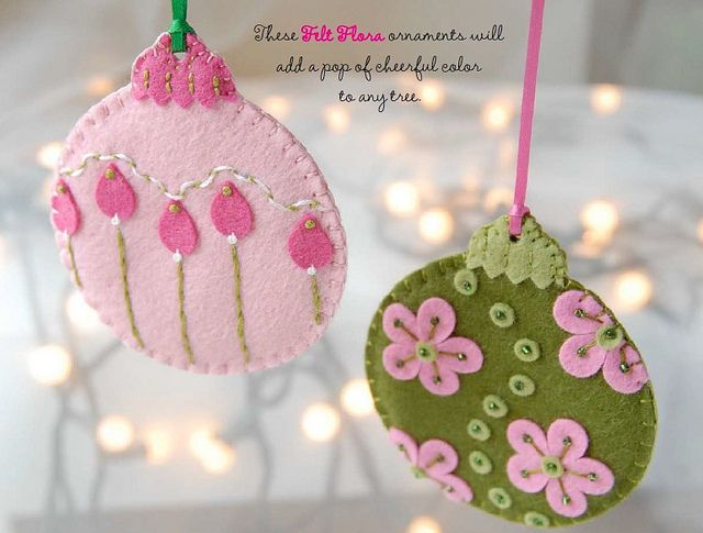 Felt Flora free download from Lark Crafts by Stumbles & Stitches, via Flickr
