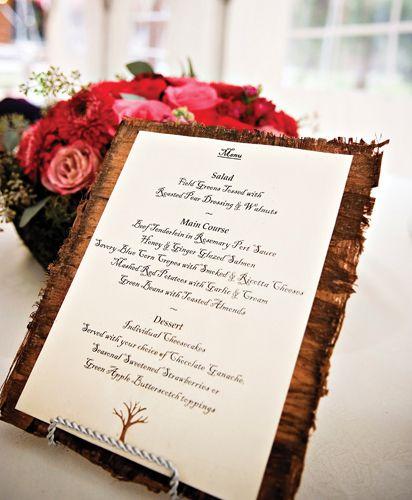 Diy wedding menu ideas do it yourself wedding ideas pretty diy wedding menu ideas do it yourself wedding ideas solutioingenieria Gallery