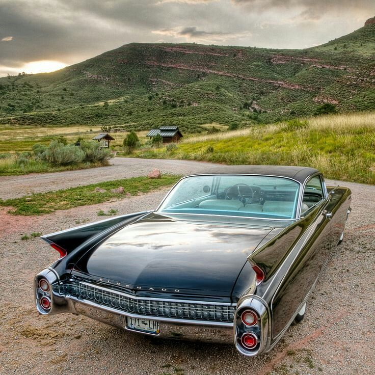 1960 Cadillac Eldorado - Old cars of the 20th century (@the_old_cars ...