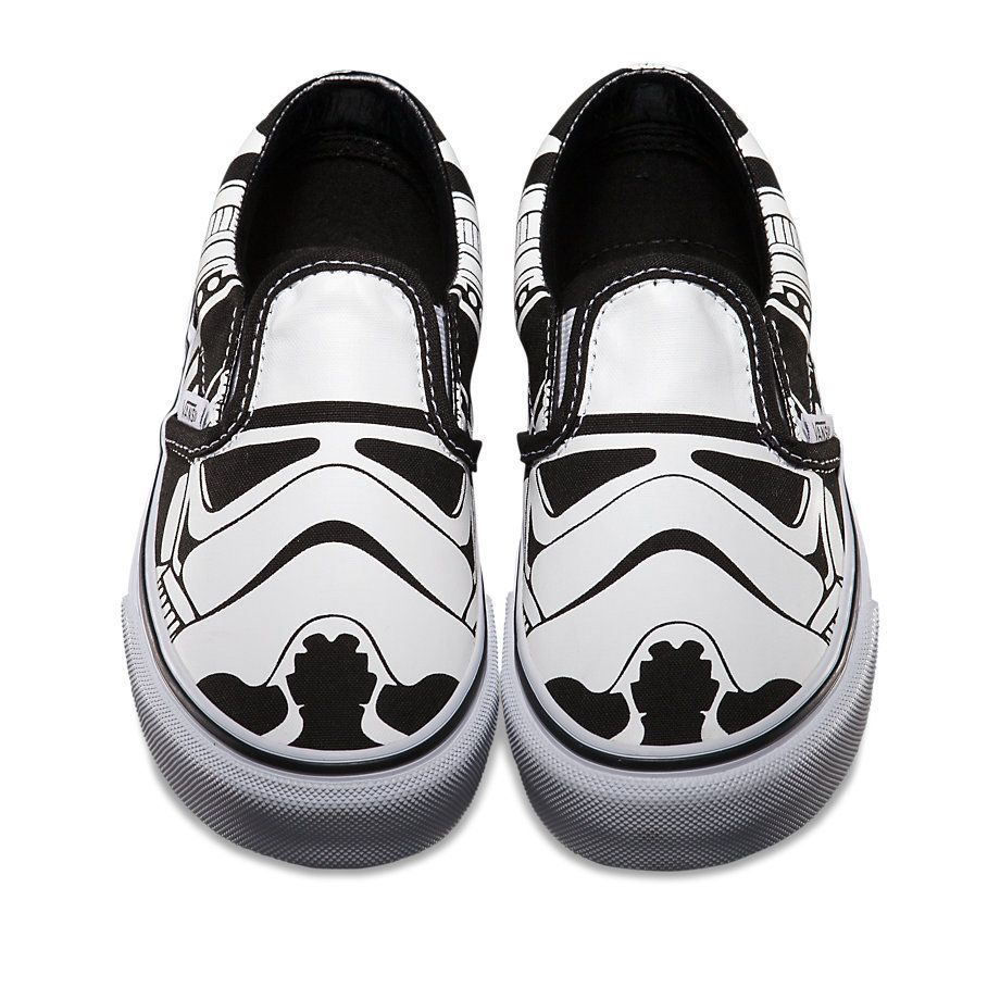 58352c128bcbfa Summer Vans Shoes for the Star Wars Skate Set... Munchkin would love  these!!!
