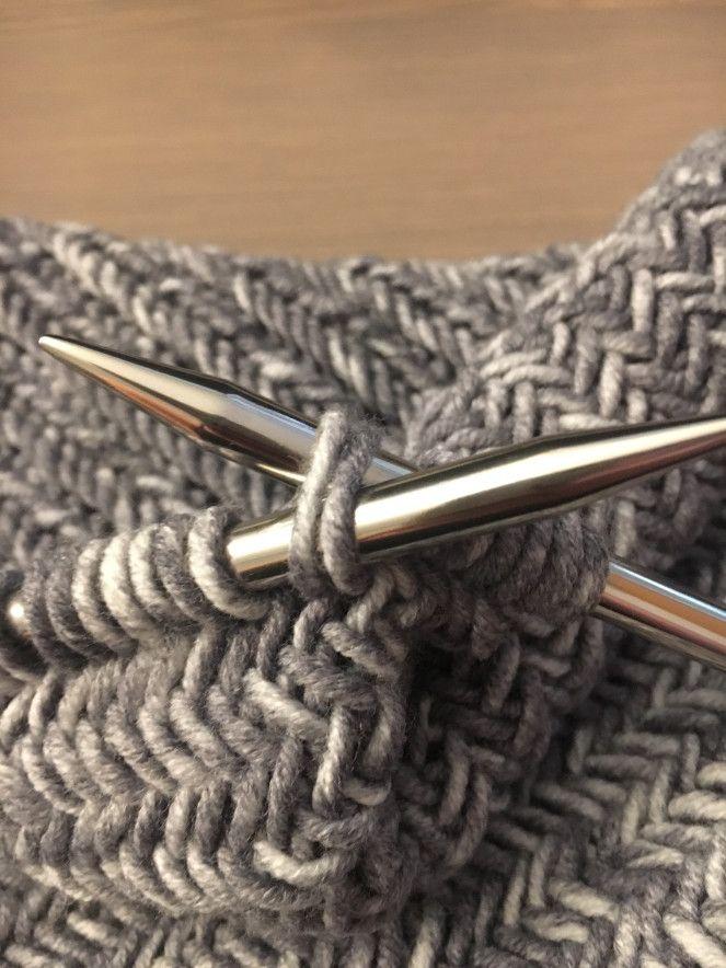 """Anleitung """"Fischgrätmuster"""" #crochetstitchespatterns"""