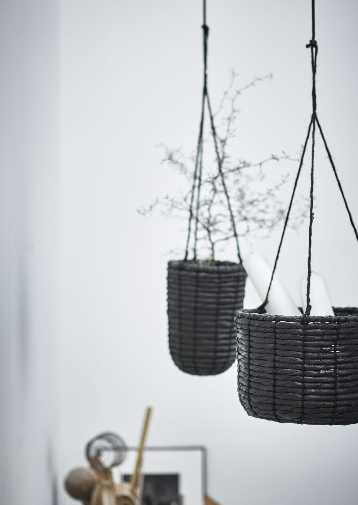Lovely IKEA   VIKTIGT, Hanging Planter, Set Of Handmade By A Skilled  Craftsperson.A Plastic Inner Pot Makes The Plant Pot Waterproof.Keeping  Plants Indoor Gives ...