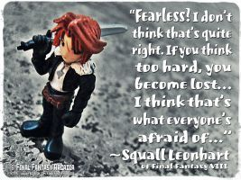 Squall Leonhart ~ Final Fantasy VIII Quote by NimbusOrion