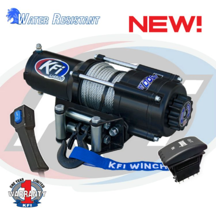 4500lb UTV Series Winch | Winches | Utv winch, Atv winch, Atv