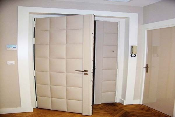 Inspiring Padded Wall Panels Door Design