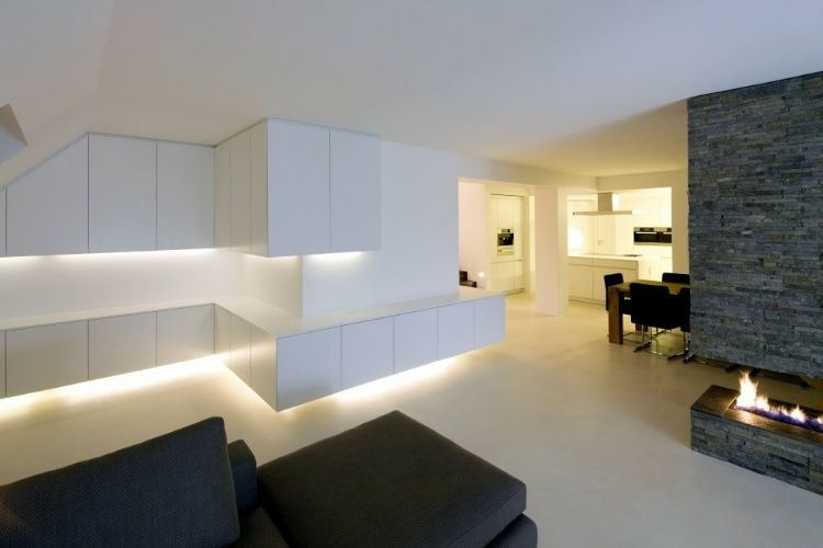 Clean modern interior design by boris koy inspirations for my
