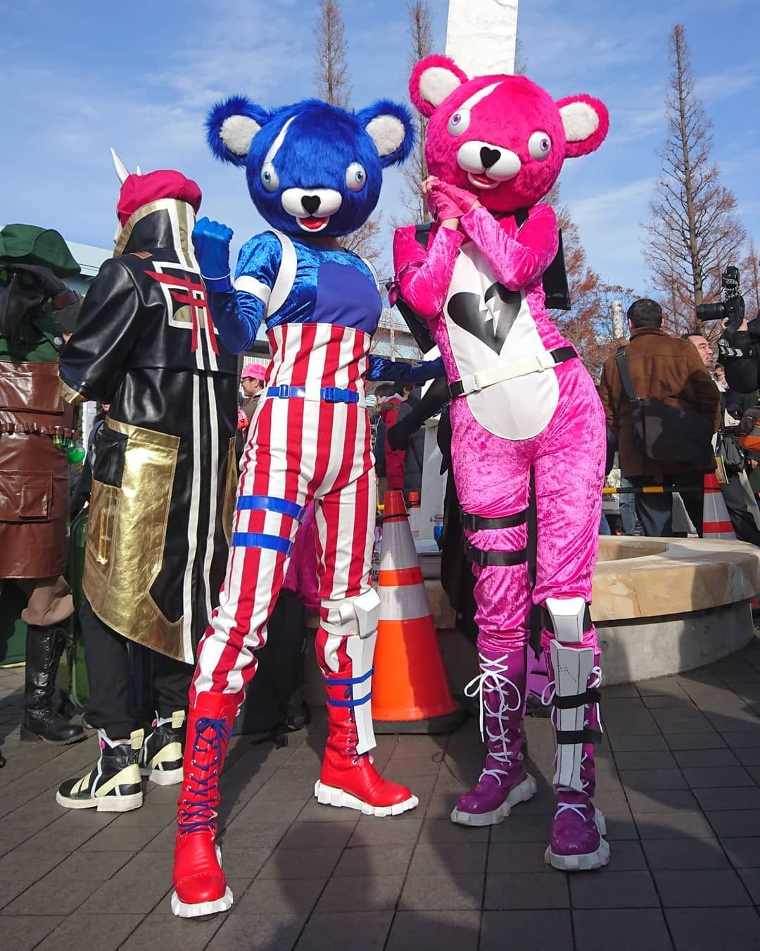 Cuddle Team Leader Fireworks Team Leader Cosplay Characters Fortnite Character Inspiration
