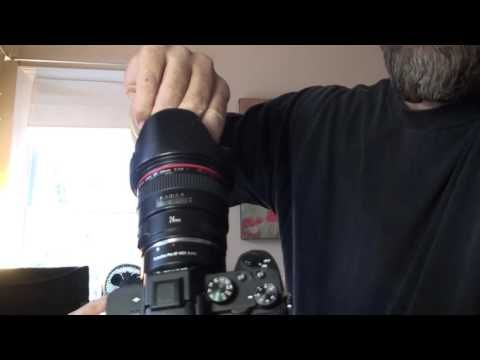 Sony A7ii Firmware Update 3.10 In Action