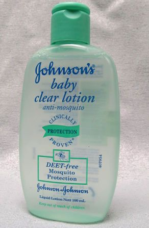 Johnson S Baby Mosquito Repellent Clear Lotion For