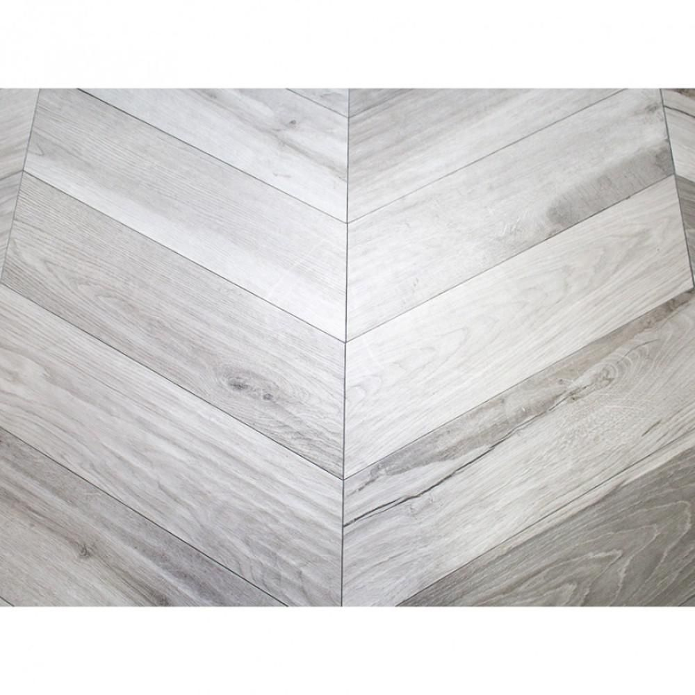 Ivy Hill Tile Solorez Grigio Chevron 8 In X 32 9mm