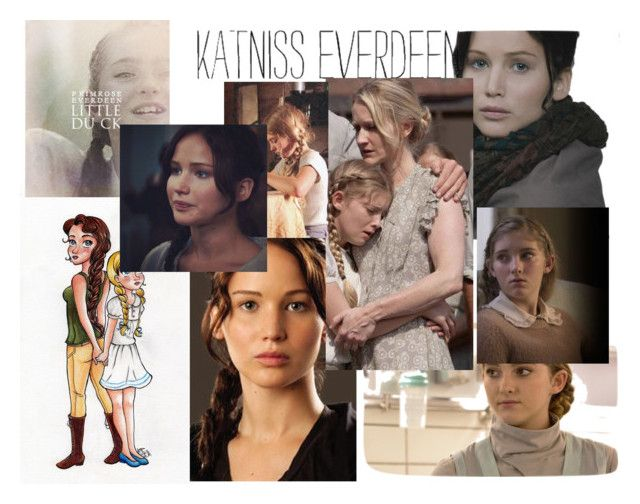 """the everdeen gals"" by bl0nday on Polyvore featuring art and that"