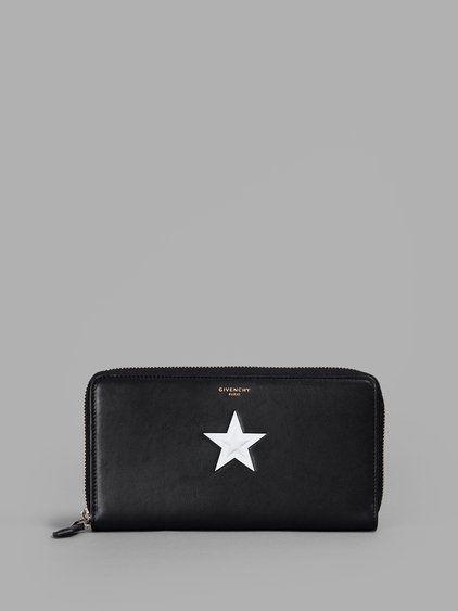 9b9a0bcafa22 GIVENCHY GIVENCHY BLACK STAR CONTINENTAL WALLET.  givenchy  wallets ...