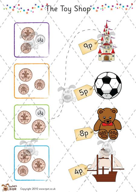 Teacher S Pet Premium Printable Games Activities Resources For Early Years Eyfs Key Stage 1 Ks1 And K Money Activities Toys Topic Nursery Activities
