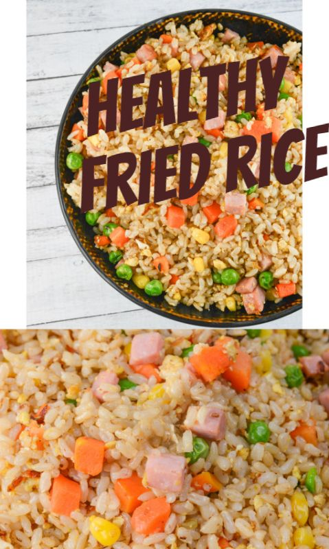 Healthy recipe for brown fried rice food recipes pinterest healthy recipe for brown fried rice forumfinder Choice Image