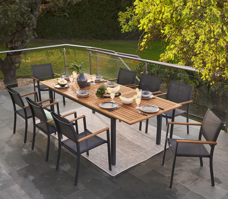 Tavolo da giardino allungabile rettangolare Oris NATERIAL ...