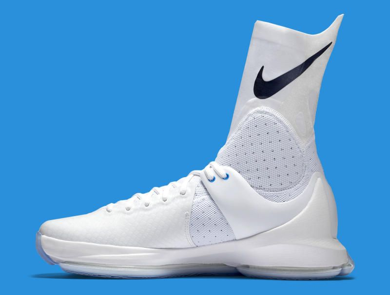 Nike KD 8 High Elite The Starting Edition Of White Basketball Shoes