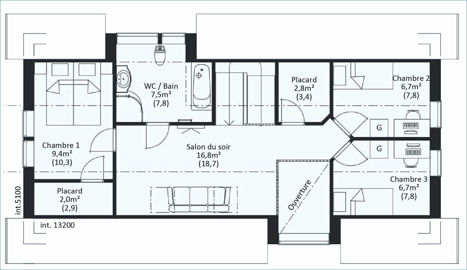 30 Logiciel Plan 2d Maison Plan De La Maison Plan Maison Maison Ossature Bois Plan Maison Bois