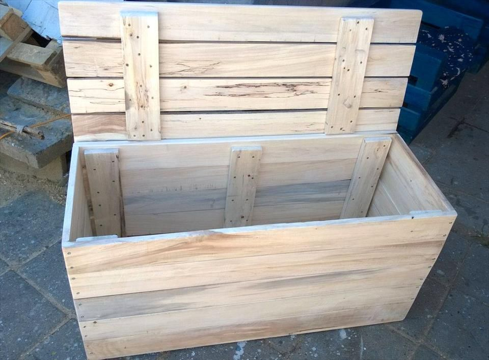 How to build your own bar clamps pallet toy boxes