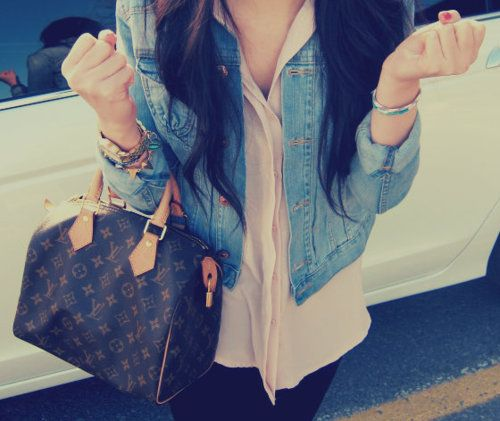 every girl must own one louis vuitton bag
