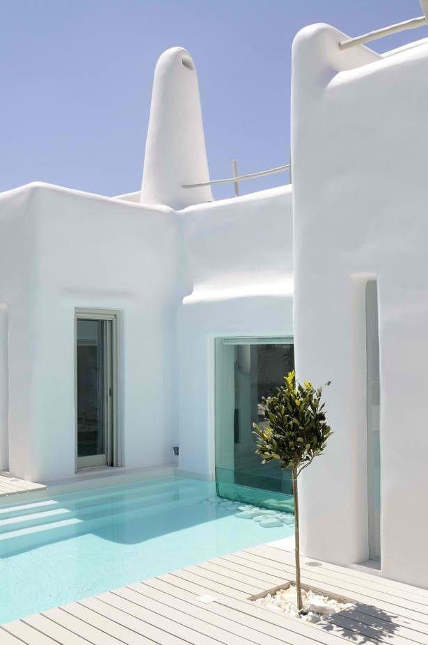 Envie de #Deco à la grecque d\'un coup (et de plonger dans cette ...