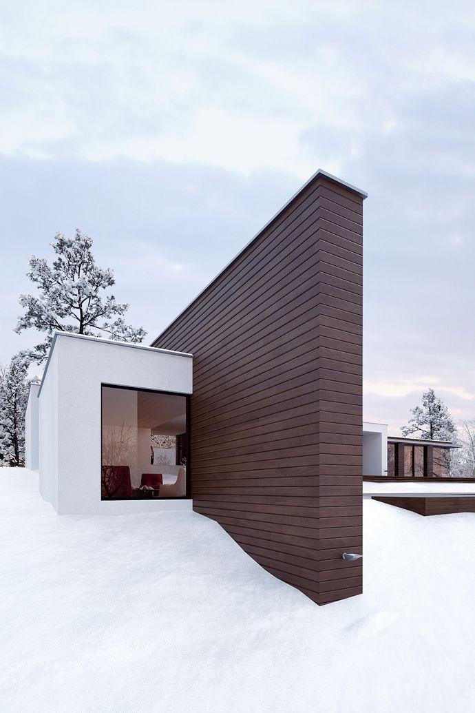 Minimalist Holiday House By Line Architects Moldova 2